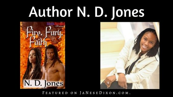Author N. D. Jones | Ja'Nese Dixon