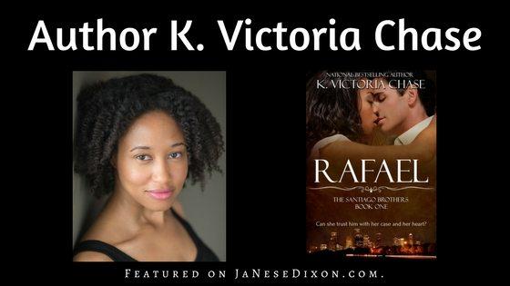 Author K. Victoria Chase | Ja'Nese Dixon