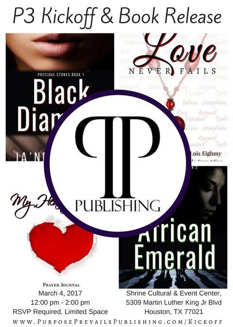 Purpose Prevails Publishing Kickoff | Ja'Nese Dixon