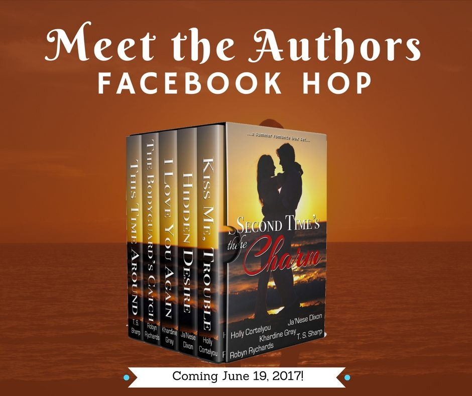 Second Time's the Charm Facebook Hop and Giveaway