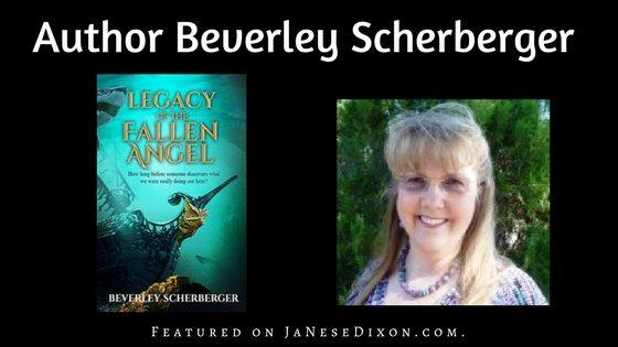 Author Beverley Scherberger   Ja'Nese Dixon