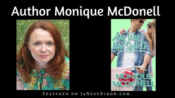 Author Monique McDonell | Any Way You Spin It | Ja'Nese Dixon