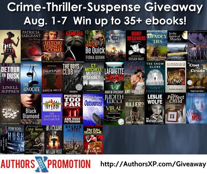 Crime Thriller Suspense Giveaway | Ja'Nese Dixon