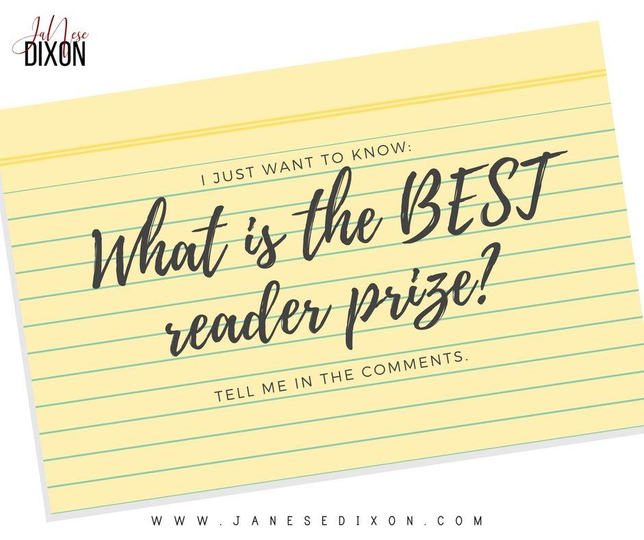 Reader Prize | Ja'Nese Dixon