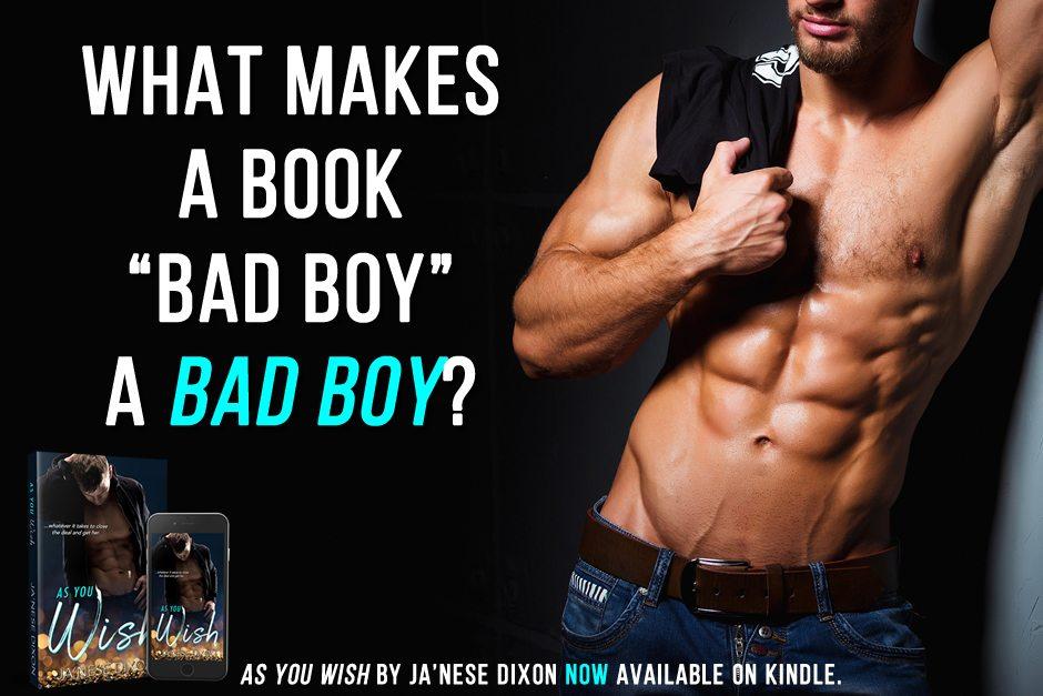Book Bad Boy | Curious Writer | Ja'Nese Dixon