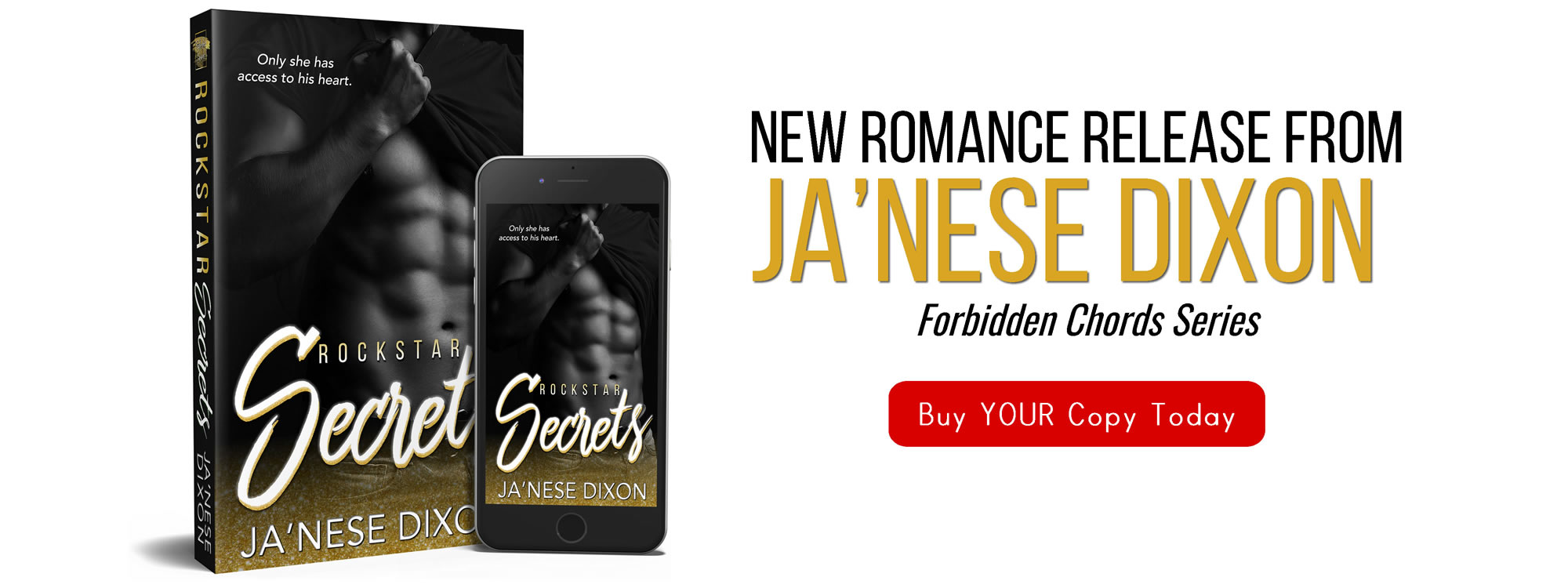 Rockstar Secrets | New Release | Ja'Nese Dixon